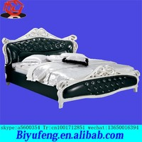 1.8*2m Manufacturers selling contracted Europe type style prince bed modern high-grade soft bed Fashion creative wedding bed
