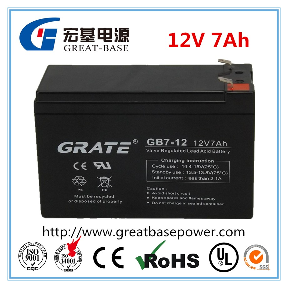 Actual Factory Supply 12V 7AH Power tools battery UPS Battery