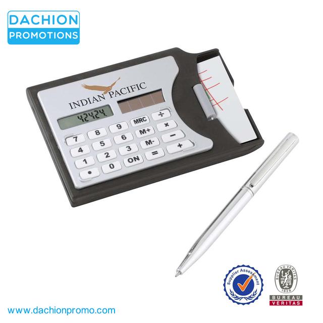 Promotional Calculator Card Holder