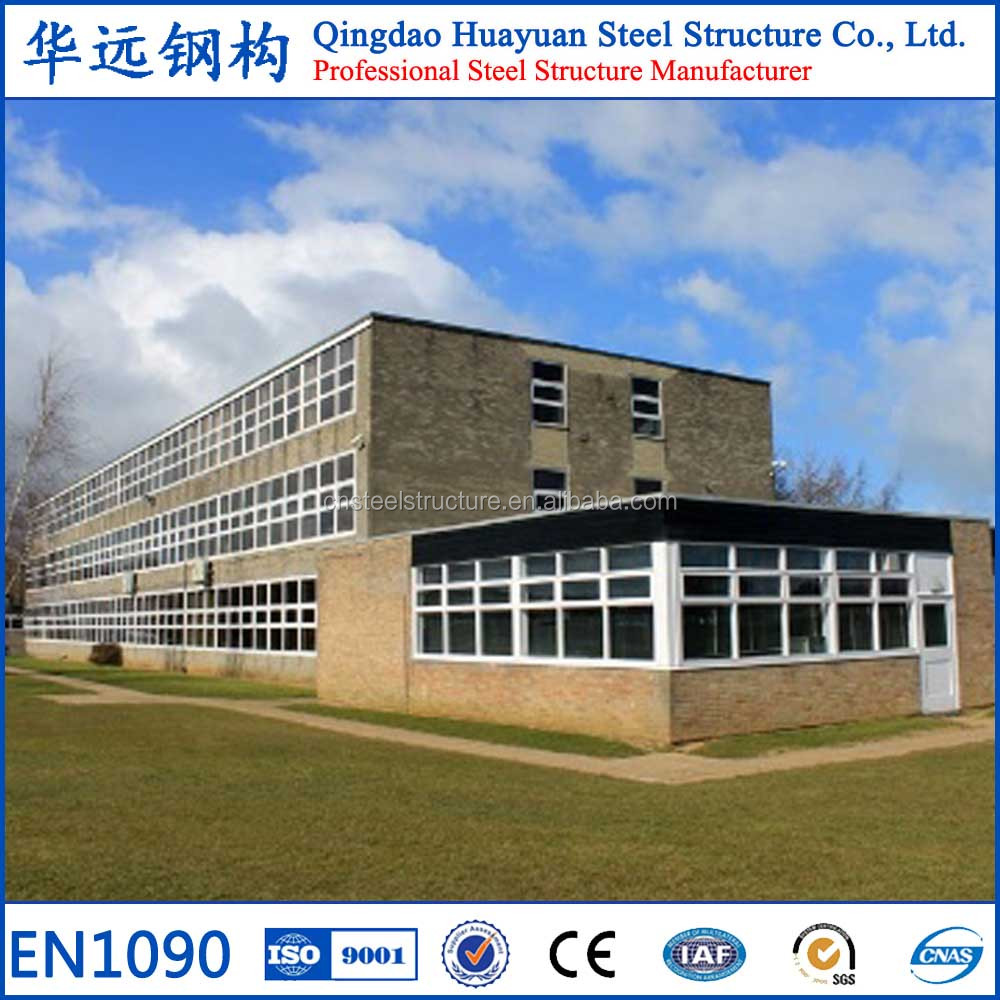 China Supplier Pre Fabricated Steel Structure School