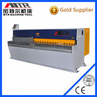Mechanical plate shearing guillotine machine QH11D type electric steel cutter