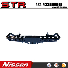 Hot Sell Steel Back Rear Bumpers Bull Bars for Nissan Navara NP300 Auto Spare Parts