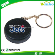 Winho Squeeze Hockey Puck Keychain Stress Ball for Your Organization