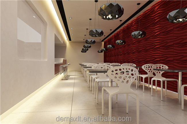 DBDMC thai restaurant board 3d effect interior fibre