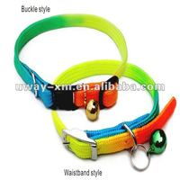 Buckle style pet collars for dogs, made of nylon,10mm width