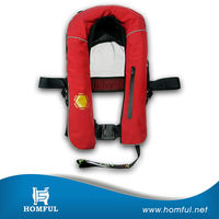 mini hydraulic cylinders ce approved orange neoprene life jackets 33g co2 inflatable life jacket