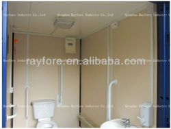 mobile 10ft container toilet for disable