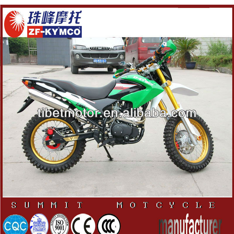 Popular air cooling 200cc racing dirt bikes sale on promotion ZF200GY-5