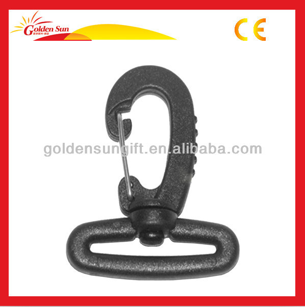 High Strength Personalized Black Metal Snap Hooks