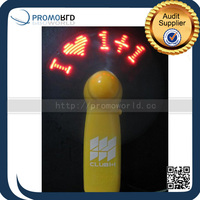 Promotion item Hand Fan,Wholesale Mini Fan,Program LED Message Fan