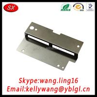 Export OEM Thin Steel Corner Bracket Plate, Small Metal Stamping Plate Hardware Factory