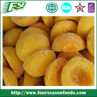 2015 New crop Frozen yellow peach halves and dices