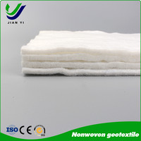 Excellent permeability pet nonwoven geotextiles fabric