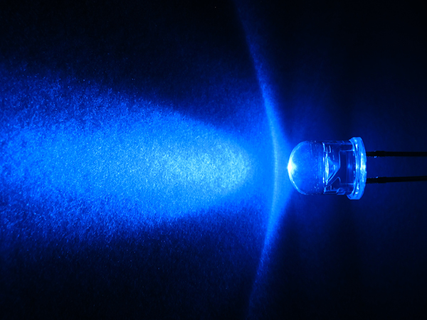 Epistar Chip Blue Water Clear Through Hole 5mm Led Diode