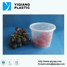 10OZ 24OZ takeaway disposable plastic food container