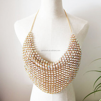 Latest Design Gold Color Body Chain