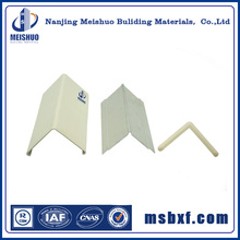 Plastic corner guards for wall corner protection