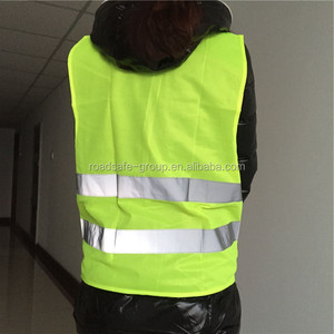 High Visibility Cheap Road Safety Reflective Vest Warning Vest