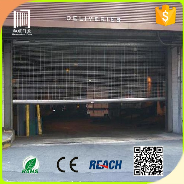 Roll Up Security Gates for Retail Stores/ commercial rolling grille doors