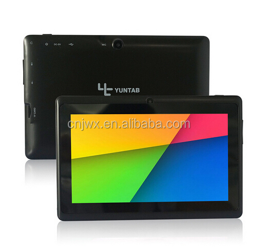 Paypal/Escrow accepted 7 inch Q88 tablets A23 cheap tablet pc made in China Shenzhen