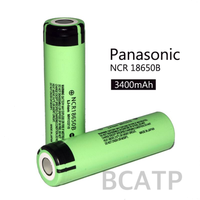 100% Original 18650B 3.7V 3400MAH NCR18650B 18650 Li-ion Battery Batteries For NCR18650B 3400MAH