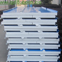 On sale good quality 0.3-0.8mm Zinc Galvanize with fireproof grade A and low water absorption Polyurethane Sandwich Panels