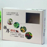 Custom Printed Fruit Packing Cardboard For