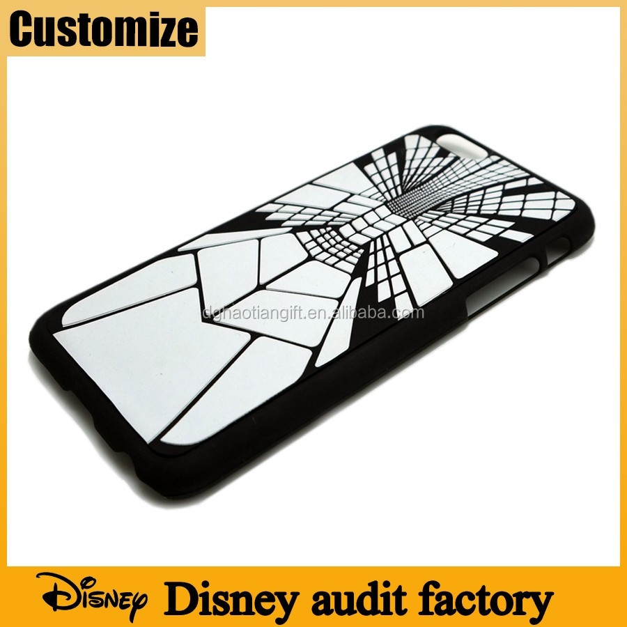 Disney audit factory Innovation black and white cool stylish silicone phone cover custom