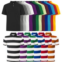 Quality Colorfast Preshrunk Cotton Embroidered Custom Mens Fashion Polo Shirt