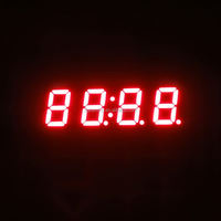 Ultra red 0.4041inch 4 digits led display cabinet spot light