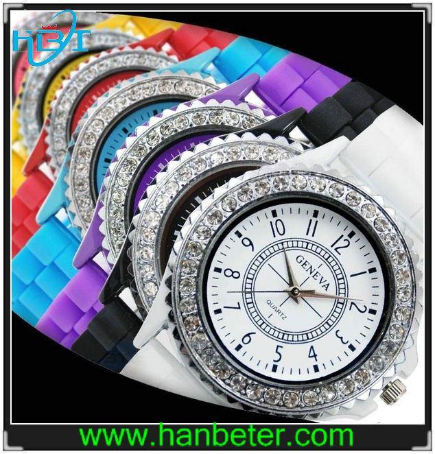 2014 hotselling China supplier high quality wholesale diamante watch diamond quartz