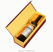 Special paper single red wine packaging gift box