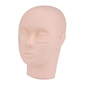 Training Mannequin Make Up Practice Flat Head Eye False Lashes Eyelash Extension