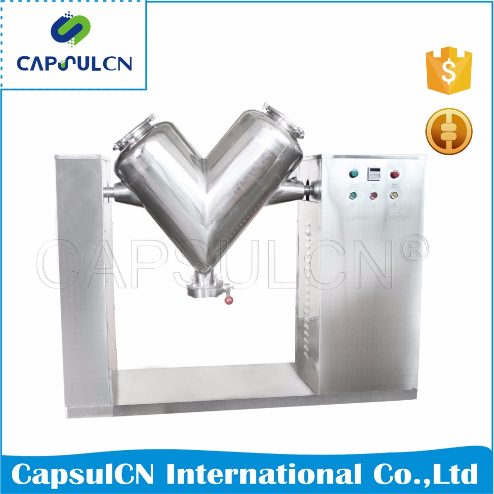 stainless steel V shape chemical powder mixer/ blending machine