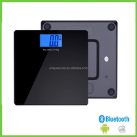 iOS&Android compatible 180-250kg capacity smart weight scale weight&BMI