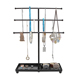 Necklace Holder Ring Holder 3 Tier Tree Type Ornament Jewelry Display Stand