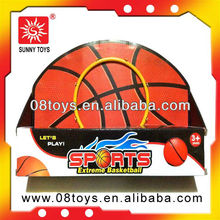 kids small size indoor sports toy plastic mini basketball hoop with stand