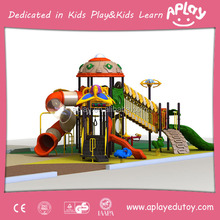 Wholesale playground equipment China factory for children outdoor Amusement Park ground slide structure