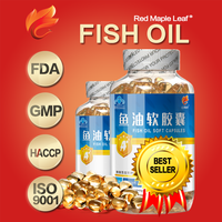 1000mg Best Omega 3 DHA EPA Supplement Fish Oil Capsules