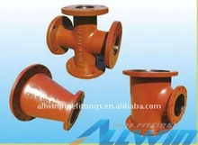 EN545/ISO2531 flanged taper&crosses&tee ductile iron pipe fittings
