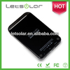 2014 high efficiency 3g wifi power bank Li-ion battery solar charger LET37H