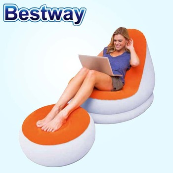 Bestway Flocking Sofa Combination Footstool
