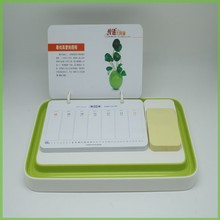 Cheap Wholesale Plastic Desk Creative Table Calendar Holder
