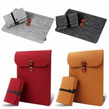 Super quality 16.5 17.2 inch laptop felt sleeve factory