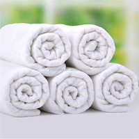High Quality 100% Cotton Terry Hotel Towels White Manufacturer