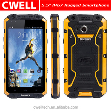 5.5 Inch Qualcomm Snapdragon Quad Core Rugged IP68 Waterproof Android 4.4.4 Phone 1GB RAM 8GB ROM Discovery V9