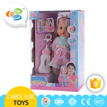 Fashion 12 inch beautiful funny girl child love dolls for sale