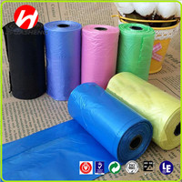 Hot sale biodegradable eco friendly scented dog waste bag on roll