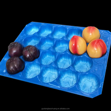 Popular Wholesale Netherlands Market 39x59cm Blister Packaging PP Fruit Apple Tray