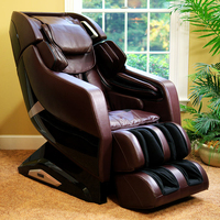 Heating Function Whole Body L Track Massage Chair with Wholesale Price